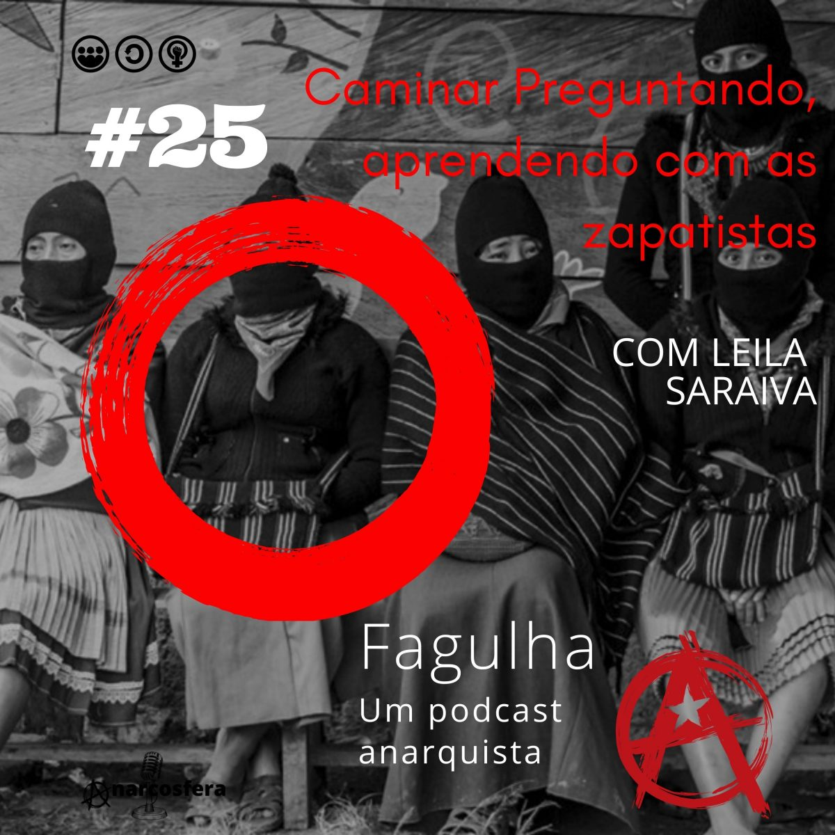Fagulha #25: Caminar Preguntando, aprender com as zapatistas, com Leila Saraiva